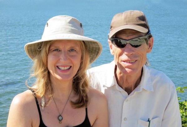 Allan and Gena at beach